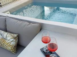 *** Boutique Syntagma apartment w/ plunge pool ***, hotel with pools in Athens