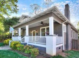 Charming home - Historic district - Walk to the city, vacation rental in Charlotte