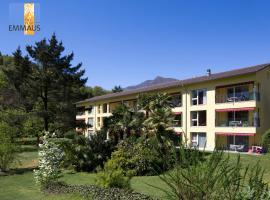Parkhotel Emmaus - Casa del Sole, hotel in Ascona