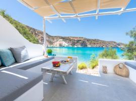 Milinon Suites, hotel near Plathiena Beach, Firopótamos
