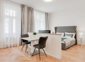 Gold Art Apartments, hotel a Praga