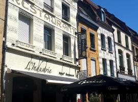 Hôtel Restaurant L'Industrie, hôtel à Saint-Omer