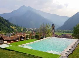 Residenza al Castello, Ferienwohnung in Enguiso