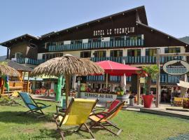 Hotel Le Tremplin, отель в Морзине