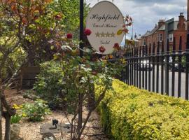 Highfield Guest House, bed & breakfast a Edimburgo
