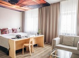 Hotel Helka, hotelli Helsingissä lähellä maamerkkiä Helsingin Messukeskus