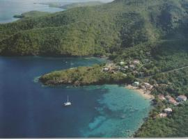 Domaine de Robinson, Ferienunterkunft in Les Anses-d'Arlets