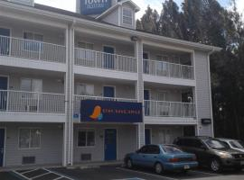InTown Suites Extended Stay Clearwater FL, hotel near Ruth Eckerd Hall, Clearwater