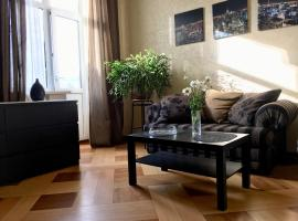 Apartment on Frunzenskaya 48, hotel near Vorobyovy Gory Metro Station, Moscow