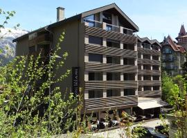 Hotel des Alpes, отель во Флимсе