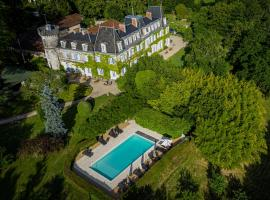Château de Lalande - Les Collectionneurs - Périgueux、アネス・エ・ボーリュのホテル