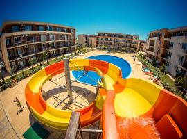 Holiday and Orchid Fort Noks Apartments, golf hotel in Sunny Beach