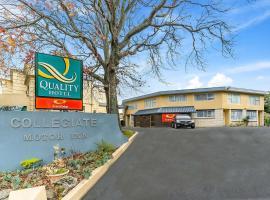 Quality Inn Collegiate, hotel in Whanganui