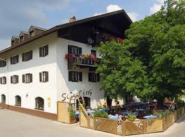 Hotel Säuling Garni, отель типа «постель и завтрак» в городе Пинсванг