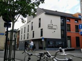 Hotel Ladeuze, accessible hotel in Leuven