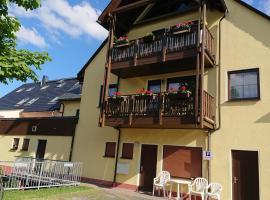 Ferienwohnung Korn mit Tiefgarage und Skiraum, hotel near Fichtelberg Schwebebahn, Kurort Oberwiesenthal
