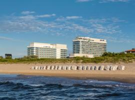 Radisson Blu Resort Swinoujscie, hotel ve Svinoústí