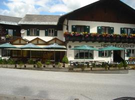 Hirscheggerhof, hotel u gradu 'Hirschegg Rein'