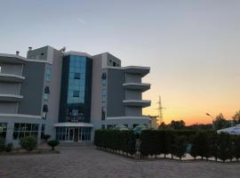 Blue sky, hotel in Golem