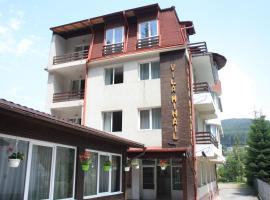 vila mihail, hotel Buşteniben