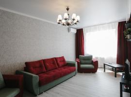 Двухкомнатная квартира рядом с ТРК Красная площадь, hotel near Red Square Shopping Mall, Krasnodar