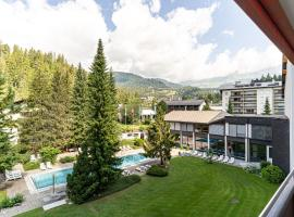 Laax Rancho Family Apartment, hotel in Laax