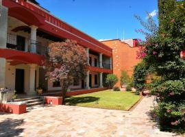 Paraje La Huerta, отель в городе Оахака-де-Хуарес