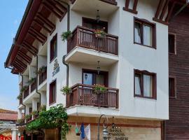 Hotel St. John Nesebar, hotel Neszebarban