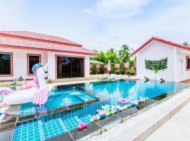 Modern Tropical Villa, hotel in Nong Prue