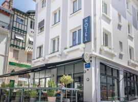 Hôtel Cosmopolitain, boutique hotel in Biarritz