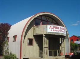 Alpine Backpackers Lodge, hotel in Ohakune