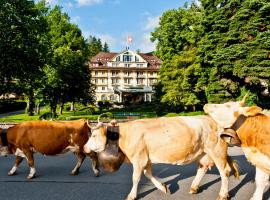 Le Grand Bellevue, отель в городе Гштад
