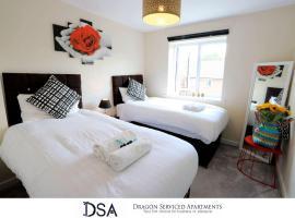 Birmingham Stunning Beauty 3 beds3 baths Homebase for NECAirport, family hotel in Birmingham