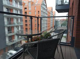 Przytulny apartament blisko Motławy i Neptuna, apartment in Gdańsk
