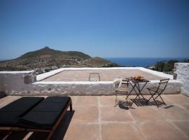 Sunset & Ocean view Villa, hotel a Patmo (Patmos)