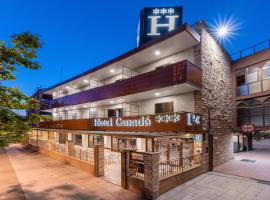 Hotel Canadá、タラゴナのホテル