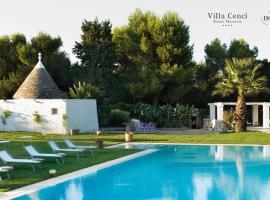 Relais Masseria Villa Cenci, hotel a Cisternino