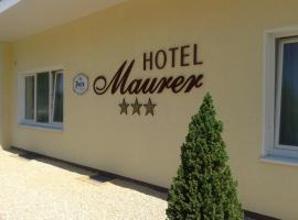 Hotel Maurer, hotel dicht bij: Internationale luchthaven Münster-Osnabrück - FMO,