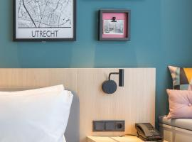 Hampton By Hilton Utrecht Centraal Station, hotel near Beatrix Theater, Utrecht