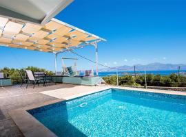 Villa Dafni, hotel with pools in Agios Nikolaos