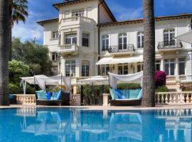 Villa L'Abri, hotel with jacuzzis in Cannes