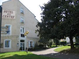 Hôtel du Centre, hotel near Notre Dame de Lourdes Sanctuary, Lourdes
