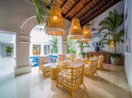 Casa La Merced by Mustique, hotel in Cartagena de Indias