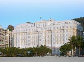 Copacabana Palace, A Belmond Hotel, Rio de Janeiro, hotel in Rio de Janeiro