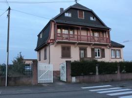 Chez Lio & Jess, hotel in Obernai