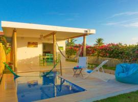 Pousada Recanto Beija-Flor Kitesurf, hotel with pools in Fortim