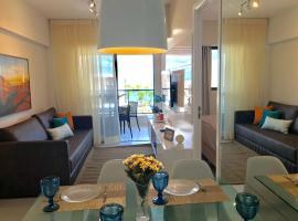 LUXO COM VARANDA MAR PONTA VERDE apt 710, accessible hotel in Maceió