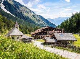 Berghotel Schlickeralm 1.616 m, Hotel in Fulpmes