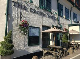 The Crown Hotel, hotel in Exford