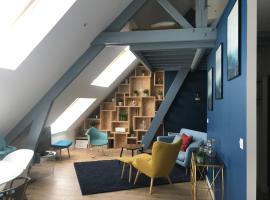 Place 6, splendide appartement vue sur mer, apartment in Arromanches-les-Bains